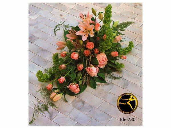 blomsterbuket 7 - bårebuket