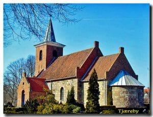 tjæreby kirke satser for begravelseshjælp