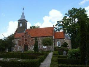 Nødebo Kirke - bedemandens opgaver